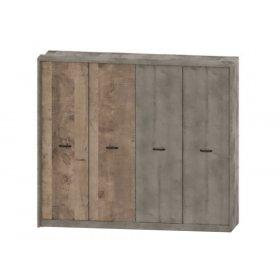 Шкаф 4Д Бари