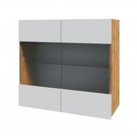 Шкаф Софт верхний (витрина) 80x72.8