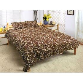 Двуспальный комплект постельного белья Любава