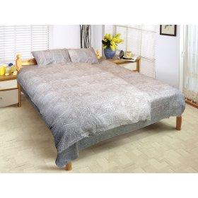 Двуспальный Евро комплект постельного белья Юнона