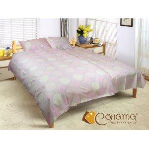 Двуспальный Евро комплект постельного белья Алана