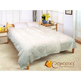 Двуспальный Евро комплект постельного белья Барбара