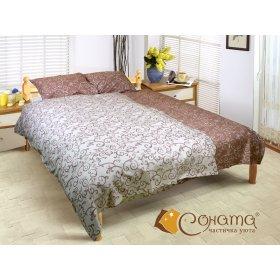 Двуспальный Евро комплект постельного белья Каталония
