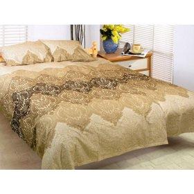 Двуспальный-евро комплект постельного белья Аурика