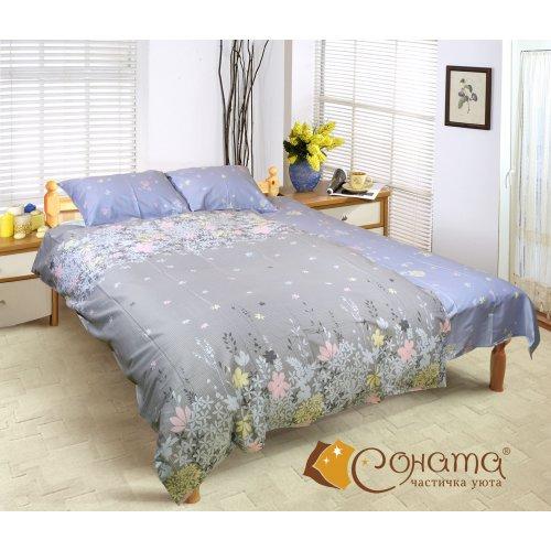 Полуторный комплект постельного белья Амбер