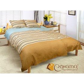 Двуспальный Евро комплект постельного белья Агузель
