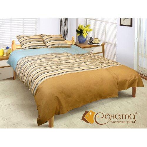 Семейный комплект постельного белья Агузель