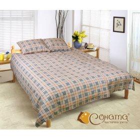 Полуторный комплект постельного белья Амалия