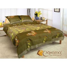 Двуспальный комплект постельного белья Баттерфляй