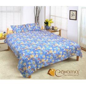 Полуторный комплект постельного белья Босфор