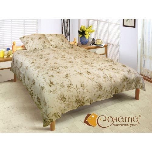 Двуспальный Евро комплект постельного белья Эрин