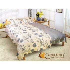Двуспальный комплект постельного белья Хлоя