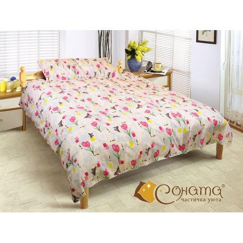 Семейный комплект постельного белья Ирма