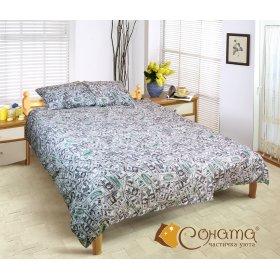 Полуторный комплект постельного белья Кэш