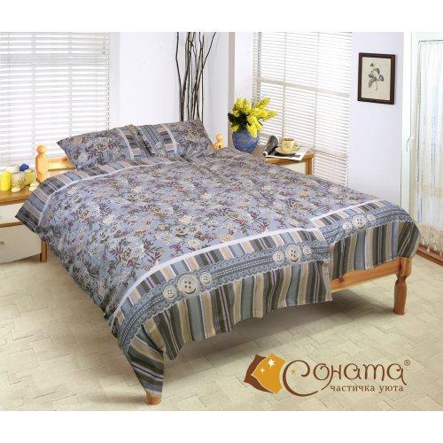 Семейный комплект постельного белья Кортни