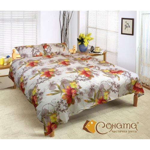 Семейный комплект постельного белья Лилиан
