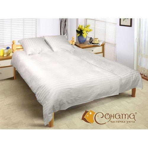 Двуспальный Евро комплект постельного белья Малибу