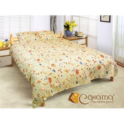 Семейный комплект постельного белья Мери