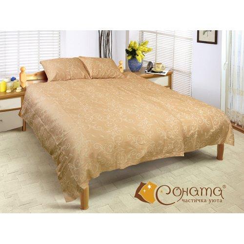 Двуспальный Евро комплект постельного белья Милена