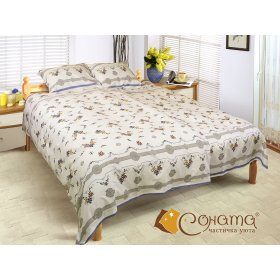 Двуспальный комплект постельного белья Нита