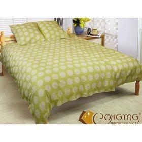 Двуспальный комплект постельного белья Паола