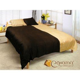 Двуспальный Евро комплект постельного белья Рейчел