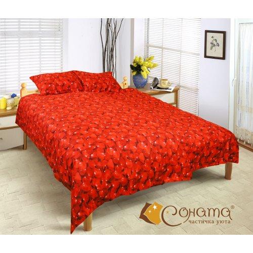 Полуторный комплект постельного белья Розалия