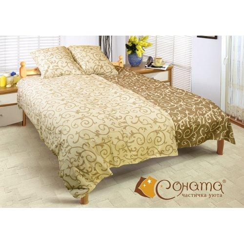 Семейный комплект постельного белья Валенсия