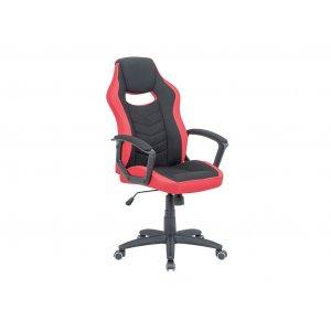 Геймерське крісло Riko black/red