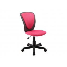 Детское компьютерное кресло Bianca Pink-dark grey