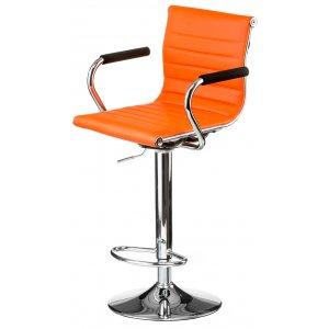 Кресло барное Bar orange