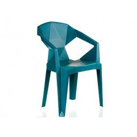 Кресло пластиковое Special4You MUZE TEALBLUE PLASTIC