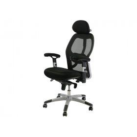 Кресло офисное Office4You GAIOLA black chrome