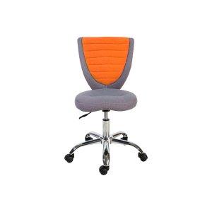 Кресло офисное Office4You POPPY серо-оранжевое