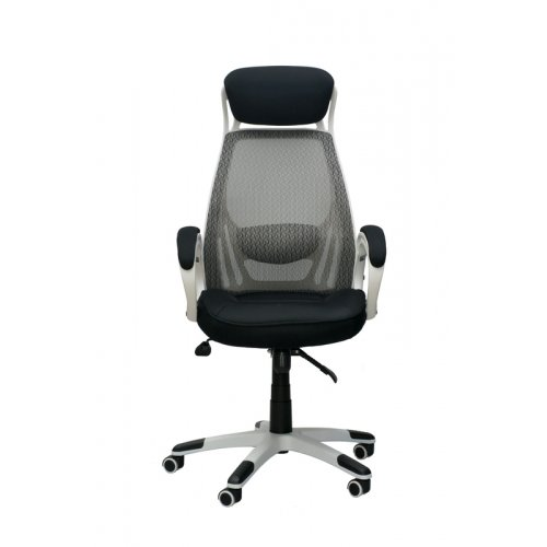 Кресло офисное Briz white/black