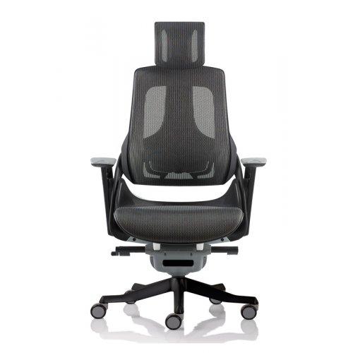 Кресло офисное Wau charcoal network