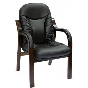 Конференц кресло CA1316C черное-орех