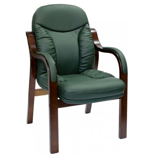 Конференц кресло CA1316C зеленое-махонь