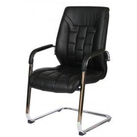 Конференц кресло F340 Italia черное