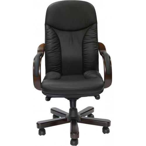Кресло руководителя CA1316A кожа delux, черное