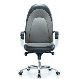 Кресло руководителя F104 Italia светло-серый