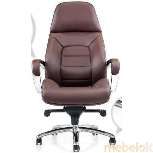 Кресло руководителя F181 Italia кожа deluxe