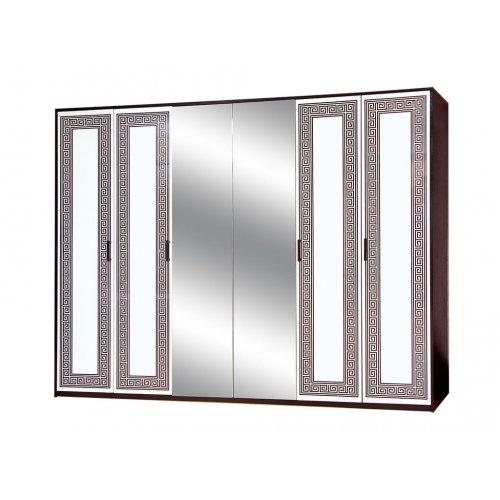 Шкаф Бася новая (Олимпия) 6Д