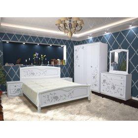 Спальный гарнитур Ванесса Эко с четырехдверным шкафом