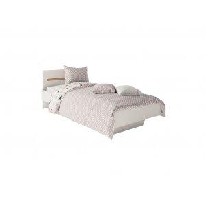 Кровать односпальная Бьянко 90х200 белый