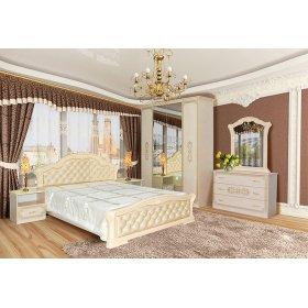 Спальня Венеция Нова 4Д пино-беж
