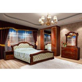 Спальня Венеция Нова 4Д пино-орех