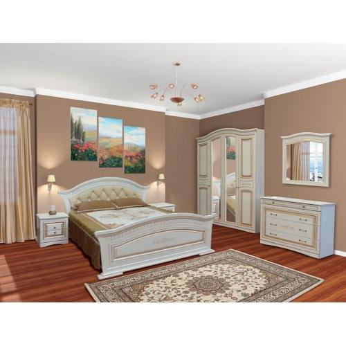 Спальня Николь патина 4Д