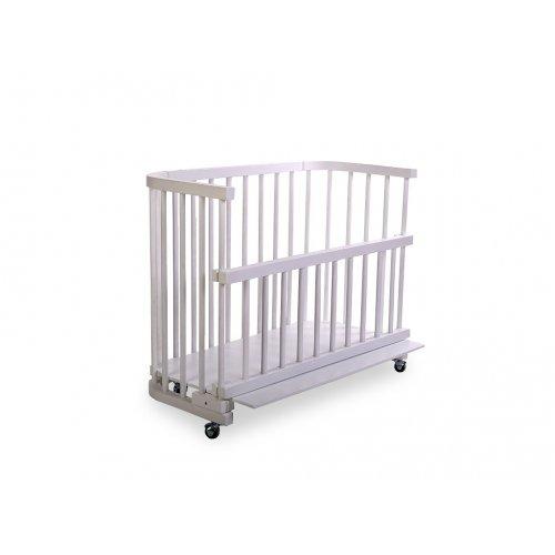 Кроватка приставная Baby dream 100x45 лакированная