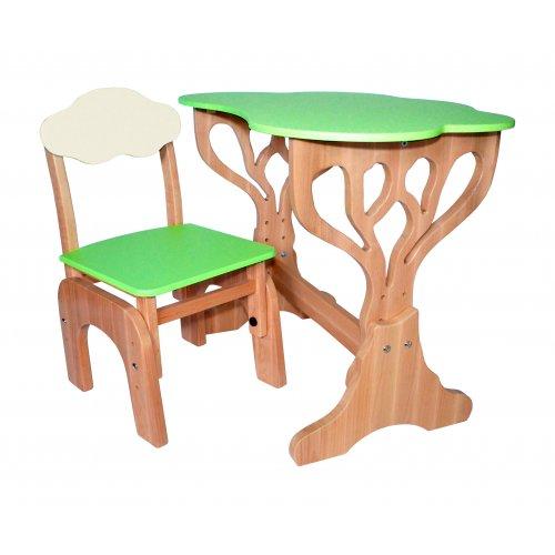 Детский набор столик + стульчик Дубок